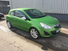 2011 Vauxhall Corse Sxi 1.2 3Dr Hatchback - CL505 - NO VAT ON THE HAMMER - Locatio