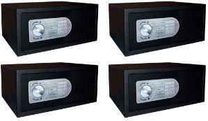 4 x Omnitec Safeguard Security Safes With Keypad Opening - Model Laptop 15 - Size H20 x W43 x D35
