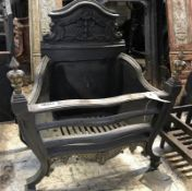 1 x Antique Fire Grate - Dimensions: 50 x 23 x Height 57cm - Ref: JB267 (F) - Pre-Owned - NO VAT