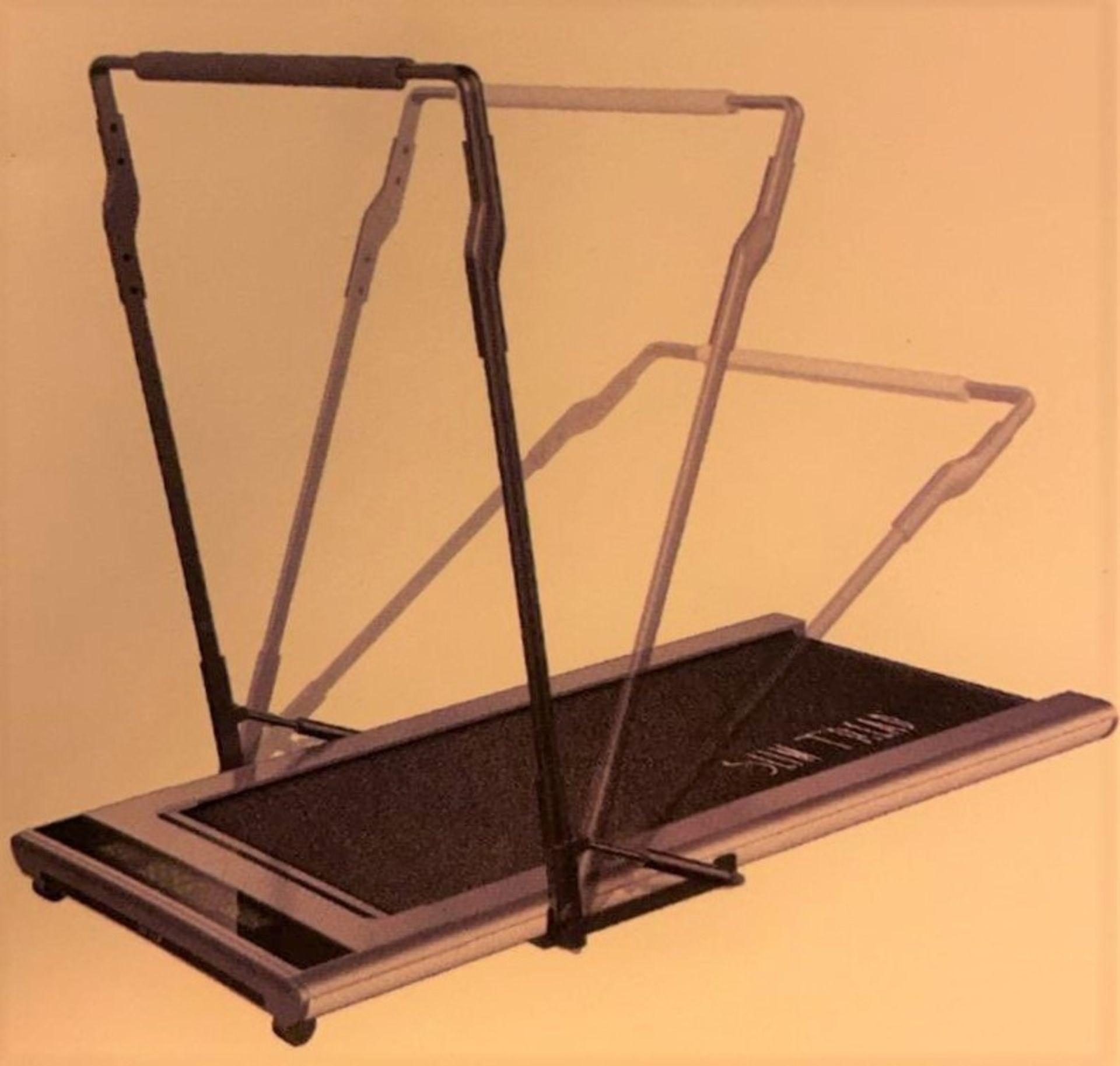1 x Slim Tread Ultra Thin Smart Treadmill Running / Walking Machine - Lightweight With Folding - Image 16 of 23