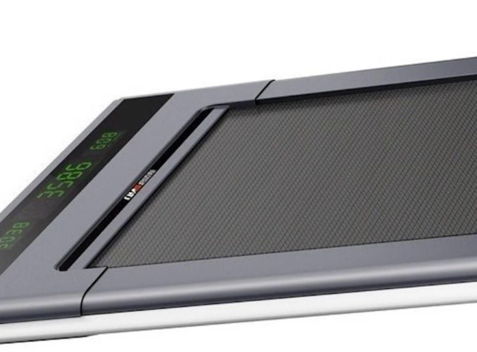 1 x Slim Tread Ultra Thin Smart Treadmill Running / Walking Machine - Lightweight With Folding - Image 19 of 19