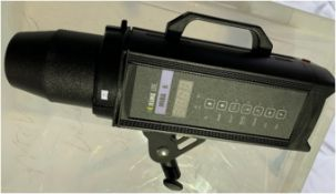 3 x RIME LITE MIRA-6 Studio Monolights - Ref: RITAP13 - CL548 - Location: Leicester LE4 Item is