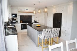 1 x Bespoke Handmade Framed Fitted Kitchen By Matthew Marsden Furniture - Features Hand Painted