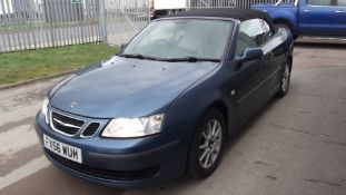 2006 Saab 9-3 Linear 150 Bhp 2.0 3Dr Convertible - FSH - CL505 - NO VAT ON THE HAMM