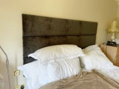 1 x Double 6ft Bed With Headboard and Giltedge Pocket Sprung Mattress - CL636 - Location: Hale,