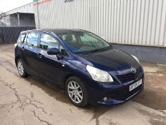 2009 Toyota Verso T spirit D-4D 2.0 5Dr MPV - CL505 - NO VAT ON THE HAMMER - Locatio