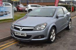 2007 Vauxhall Astra Sri Cdti 150 3Dr Hatchback - CL505 - NO VAT ON THE HAMMER