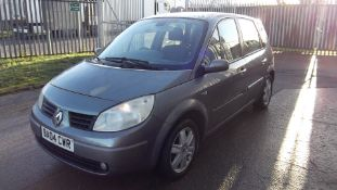 2004 Renault Scenic 1.5 dCi Dynamique MPV 5dr - CL505 - NO VAT ON THE HAMMER - Location: Corby,