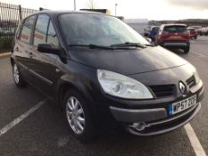 2008 Renault Scenic Dyn S 5 Dci 150 5Dr Medium MPV - CL505 - NO VAT ON THE HAMMER - Location: Corby,