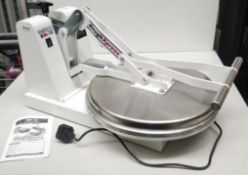 1 x DoughXpress DM-18 Heavy Duty Manual Pizza Press - Suitable For Upto 18 Inch Pizzas - H72 x W38.5