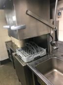 1 x Winterhalter Upright Dishwasher - PT-M - 400V 3 Phase - Recently removed from London premises of