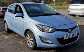 2013 Hyundai 120 Active 1.2 5Dr Hatchback - CL505 - NO VAT ON THE HAMMER -