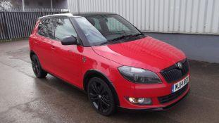 2014 Skoda Fabia Monte Carlo 1.6 Tdi Cr 5Dr Hatchback - CL505 - NO VAT ON THE HAMMER -