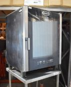 1 x Unox Cheftop Professional Combi Oven With Stand - Model XVC705E - 3 Phase - Cooking Methods