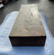 18 x Solid Wood Bench Seating Blocks Crafted Thomas Interiors - Unused Stock From Major Restaurant