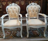 Classically Styled Chaise Longue Set Consisting Of Chaise Longue And Two Chairs - CL573 -