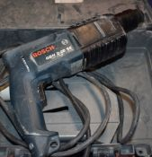 1 x Bosch SDSPlus 110v Hammer Drill With Carry Case PME136
