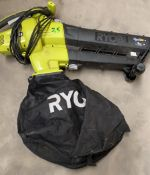 1 x Ryobi Electric Blower - Used, Recently Removed From A Working Site - CL505 - Ref: TL035 -