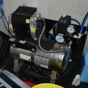 1 x ABS Italia Air Compressor - 24 Liter, 240v, AISI 304 Strainless Steel Construction - CL586 - Ref