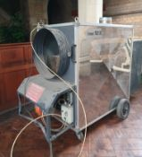 1 x Tremheat TIDZ 120kW Industrial Diesel Space Heater - CL573 - Location: Leicester LE1 This heater