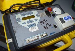 1 x Metro PAT600 Pat Tester in Carry Case PME310