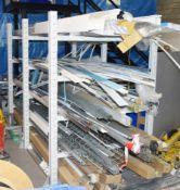 1 x Storage Rack Suitable For Long Beams, Plastics, Wood, Poles or Trunking etc