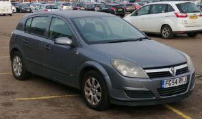 2004 Vauxhall Astra 1.6 i 16v Club 5dr Hatchback - CL505 - NO VAT ON THE HAMMER - Locatio