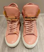 1 x Pair Of Genuine Buscemi Sneakers In Pink - Size: 36 - Preowned in Worn Condition - Ref: LOT22 -