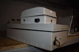1 x Hagar Switch Box and 1 x Cugar1 Switch Box With Switches PME200