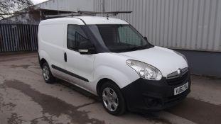 2012 Combo 2000 L1h1 Cdti 1.2 5Dr LCV Panel Van - CL505 - NO VAT ON THE HAMMER - Locatio