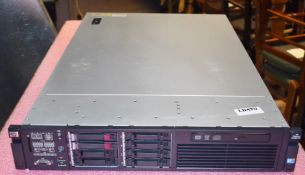 1 x HP ProLiant DL380 G7 Server With 2 x Intel Xeon X5650 Six Core 3.06ghz Processors and 84gb Ram -