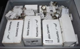Approx 20 x Nokia WBNB and WBVB Connectors - Ref WHC138 WH1 - CL011 - Location: Altrincham WA14