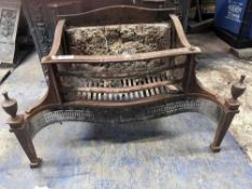 1 x Antique Fire Grate - Dimensions: 77 x 40 x Height 50cm - Ref: JB265 (F) - Pre-Owned - NO VAT