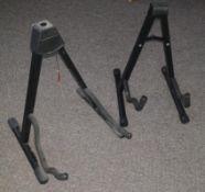 2 x Guitar / Bass Stands - Ref: WH1 Pal1 - CL010 - Location: Altrincham WA14