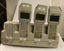 1 x (3x) Symbol PDT 3100 with Quad Charging Cradle - Used Condition - Location: Altrincham WA14