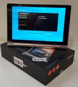 1 x Lenovo Yoga 10-inch Tablet  Computer With Detachable Keyboard - Features Quad-Core 1.2ghz