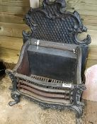 1 x Antique Fire Grate - Dimensions: 57 x 32 x Height 74cm - Ref: 274 (F) - Pre-Owned - NO VAT ON