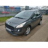 2012 Peugeot 3008 Active HDI 1.6 5DR SUV - CL505 - NO VAT ON THE HAMM