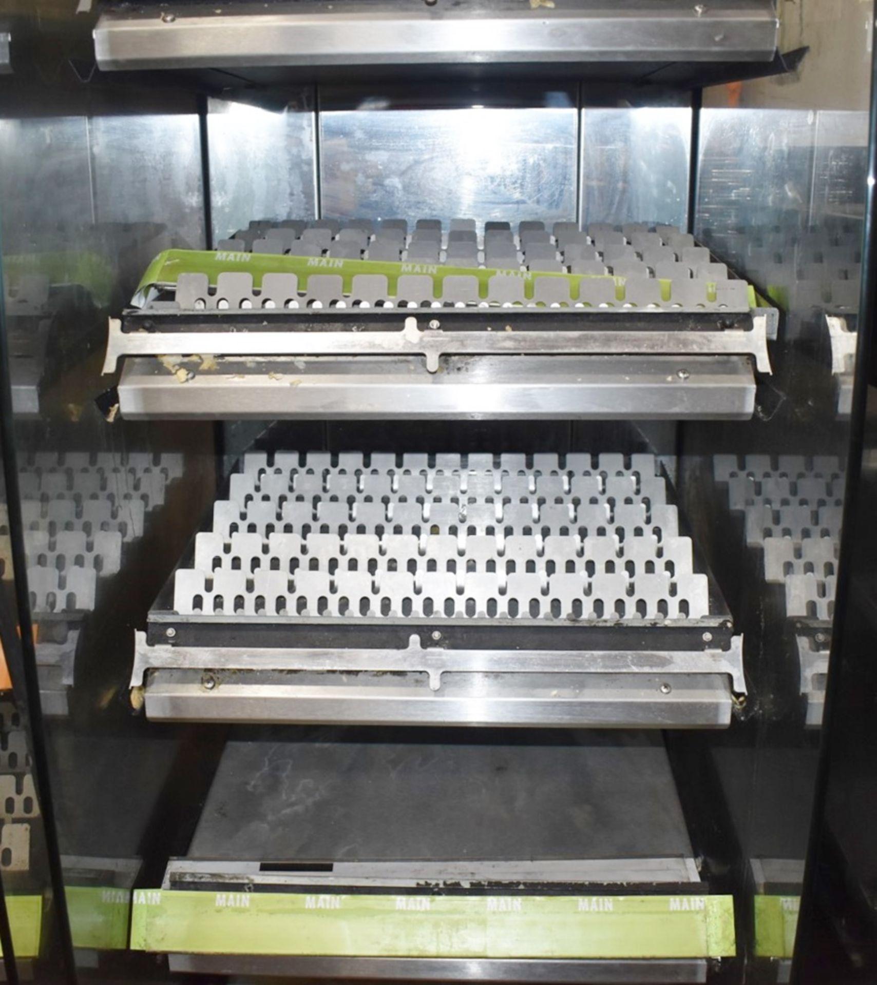 1 x Frijado Multi Deck 60 5 Level Heated Grab and Go Display Warmer - 400v 3 Phase - H197 x W60 x - Image 3 of 3