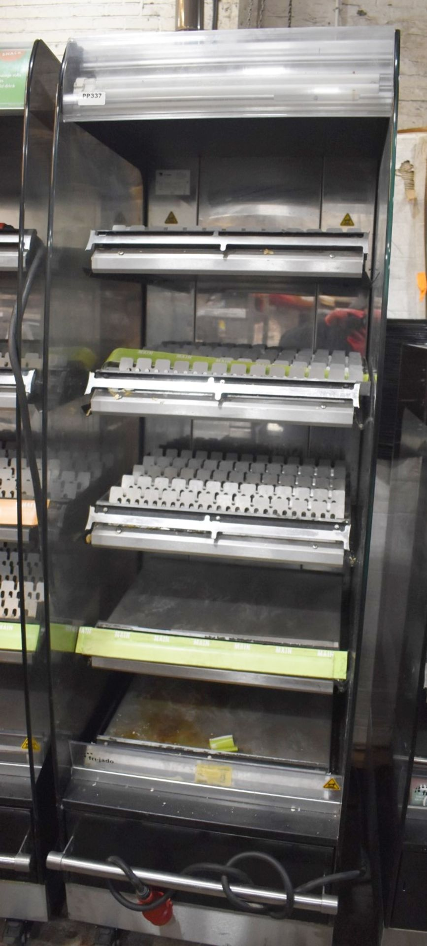 1 x Frijado Multi Deck 60 5 Level Heated Grab and Go Display Warmer - 400v 3 Phase - H197 x W60 x
