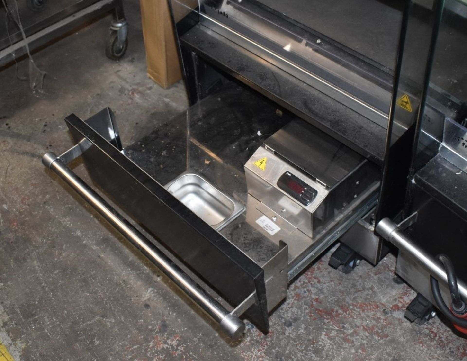 1 x Frijado Multi Deck 60 5 Level Heated Grab and Go Display Warmer - 400v 3 Phase - H197 x W60 x - Image 6 of 7