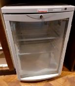 1 x TEFCOLD Single Door Display Fridge - Model RS 5607 - Recently Removed From A Leading