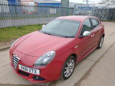 2011 Alfa Romeo Giulietta 2.0 3Dr Hatchback - CL505 - NO VAT ON THE HAMMER - Location: Corby, No