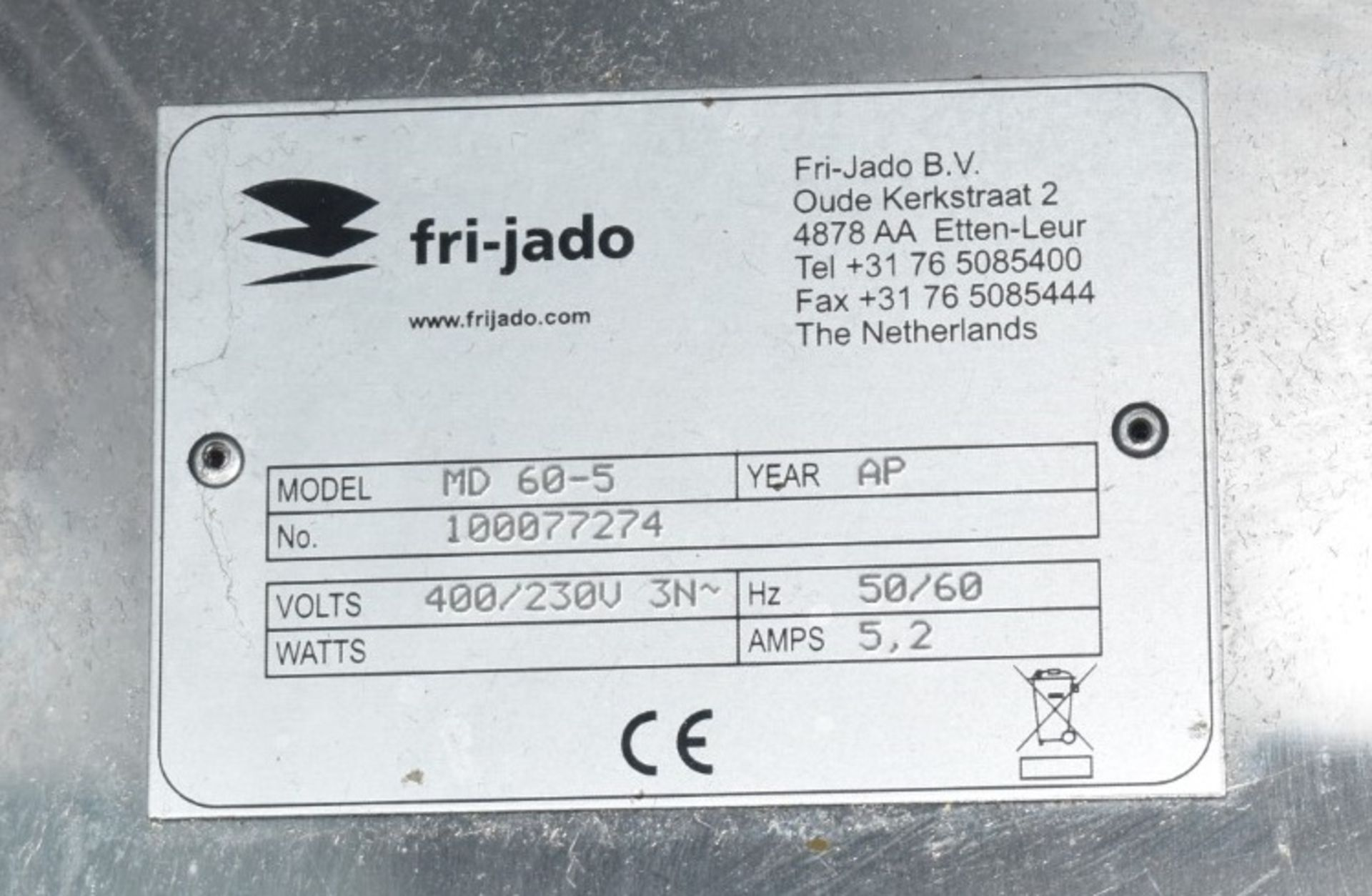 1 x Frijado Multi Deck 60 5 Level Heated Grab and Go Display Warmer - 400v 3 Phase - H197 x W60 x - Image 2 of 3