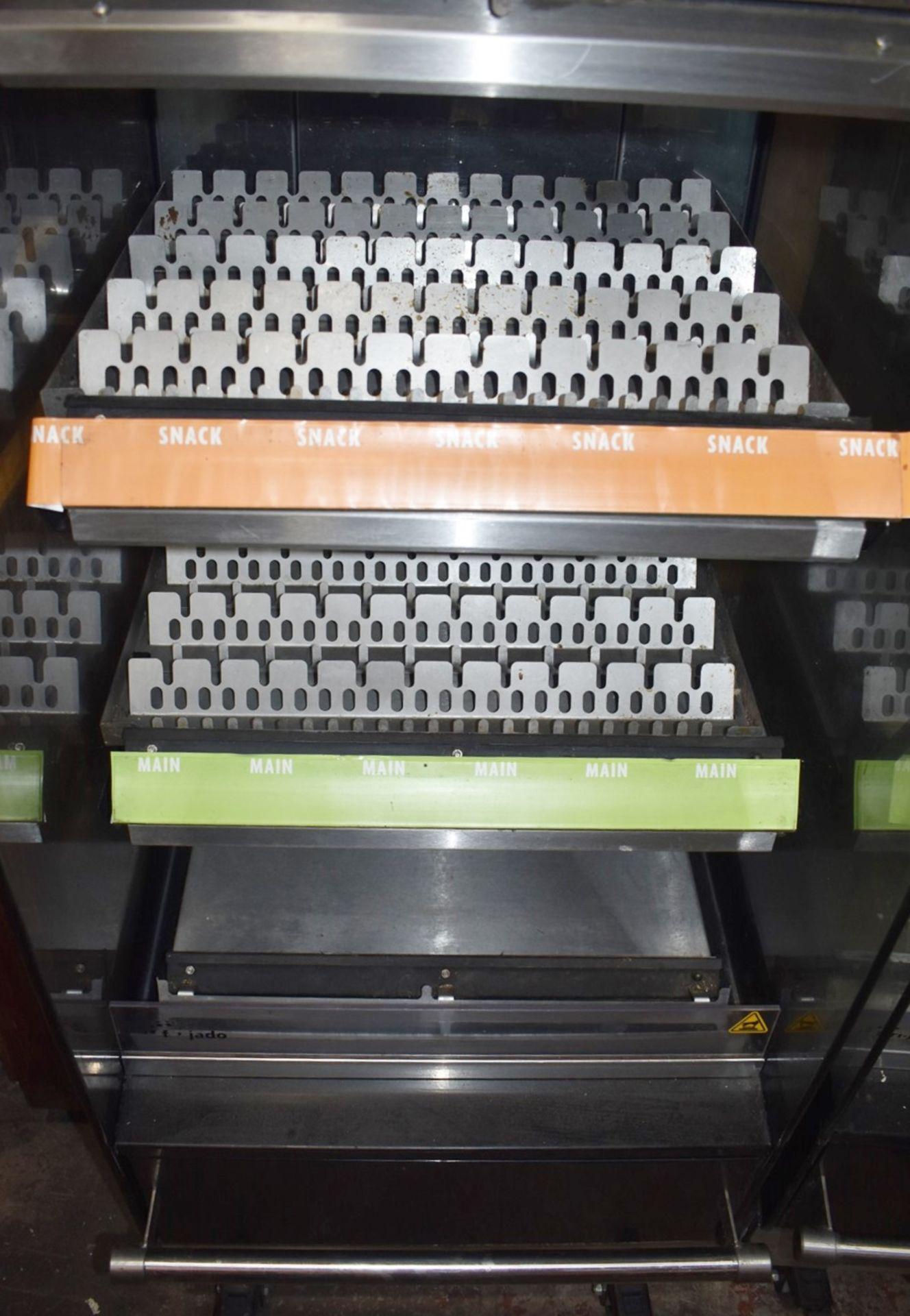 1 x Frijado Multi Deck 60 5 Level Heated Grab and Go Display Warmer - 400v 3 Phase - H197 x W60 x - Image 2 of 7