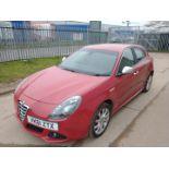 2011 Alfa Romeo Giulietta 2.0 3Dr Hatchback - CL505 - NO VAT ON THE HAMMER - Location: Corby, No