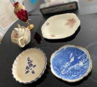 5 x Assorted Items Of Antique / Vintage Tableware  - From An Exclusive Property In Leeds - No VAT on
