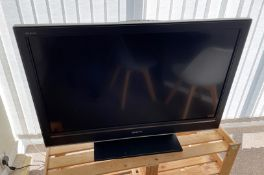 1 x SONY Bravia LCD Television With Remote Control - Size To Be Confirmed Shortly - From An