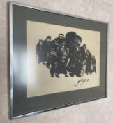 1 x Framed Illustration Signed By The Artist - Dimensions To Follow - From An Exclusive Property