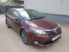 2013 Toyota Avensis 2.0 D-4D Icon Estate 5dr Diesel - CL505 - NO VAT ON THE HAMM